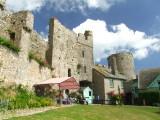 Manorbier  Castle  gatehouse