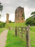 Sheriff  Hutton  castle  ruins. / 1