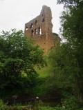 Sheriff  Hutton  castle  ruins. /  2