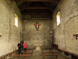 St .Cedd's  Chapel  interior.