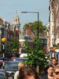 Looking  up  Marylebone  High  Street.