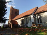Grade  I  Listed  Building , c12th  century  All  Saints'  Church,  Nazeing