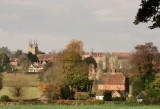 Penshurst, with  Bridge  House, in  foreground.