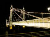 The  Albert  Bridge, looking  north.