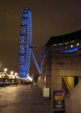 The  London  Eye,  by  County  Hall