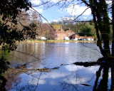 Lullingstone  Castle  and  Lake.