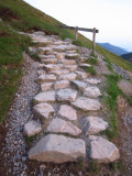 The  old  Roman  Road  on  Catbells.LOL.