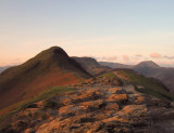 Early  morning  light  on  the  Cumbrian  Fells.