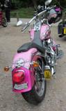A  Harley-Davidson  Pretty  in  pink , take  two.
