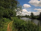 River  Medway  approaching  Tonbridge.