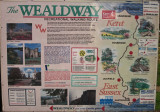 The  Wealdway  Path  Display  Board.