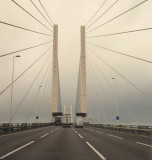 Queen  Elizabeth  II  Bridge, Dartford  Crossing.