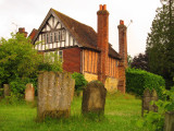 An  old  house  adjoining  the  churchyard.