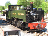 A  narrow  gauge  steam  locomotive.