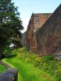 Carlisle  City  Walls  tower.