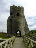 Aberystwyth  Castle  ruins. / 1