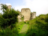 Wigmore  Castle  :  The  entrance  to  the  ruins