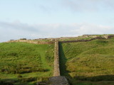 The  Broad  Wall  meets  Housesteads  Fort  wall.