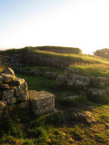 Roman  Wall  milecastle 37 ,  remains,