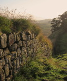 Hadrian's  Wall, as  is  today.