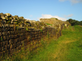 Housesteads  Roman  Fort,  north  wall  frontage.