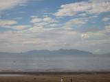 Isle  of  Arran, from  Ayr  beach.