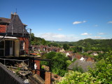 Looking  north  up  the  Severn  Valley.
