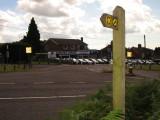Wealdway  marker  post