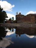The  Former  Stable  block, reflected.