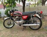 Honda  CB200,  4/1977  -  8/1977