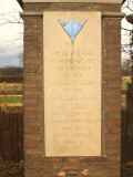 USAAF  Memorial, Little  Easton.