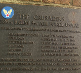 Detail  from  the  memorial  to  the  USAAF  386th. Bomb  Group(M).