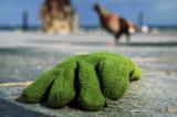 guante verde