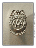 AAA Safety Patrol Badge