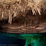 Chac Mool Cenote air pocket