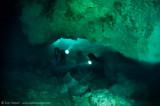 Halocline in Chac Mool Cenote