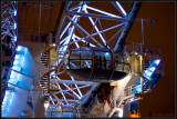 London Eye pod at night, Waterloo