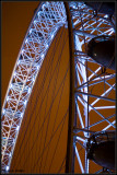 London Eye at night, Waterloo
