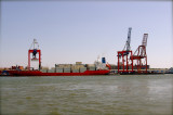 Containership almost ready to go