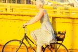 Lady on a Bike