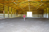 Debbie In Her Riding Arena