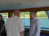 Chaplain Bob with Bill