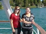 Grandaughter Amanda & daughter Michelle