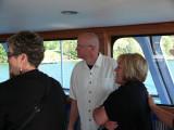 Bills sister Fran, Chaplain Bob & Me