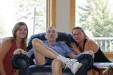 July 12 2012 Granddaughter Amanda, Bill & daughter Michelle