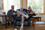July 12 2012 Michelle and fiance Virgil with Bill