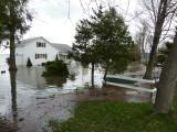 Flooding on Lake Champlain