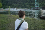 Looking at the river