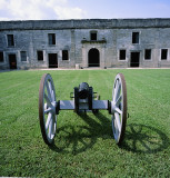 Cannon at Castillo de San Marcos National Monument