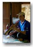 Tobacco smoker-Fumeur de tabac